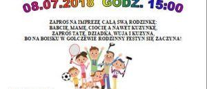 Festyn Rodzinny Gołczewo 2018
