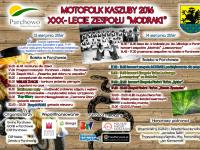 Motofolk Kaszuby oraz XXX Lecie Kaszubskiego Zespołu Pieśni i Tańca Modraki - Parchowo 2016r.