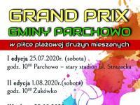 Grand Prix Gminy Parchowo w piłce plażowej drużyn mieszanych