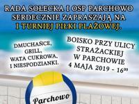 I turniej Piłki Siatkowej - Parchowo 2019r.