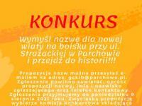 Nowa wiata przy ul. Strażackiej - konkurs i informacje