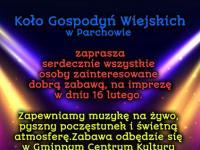 Impreza Koła Gospodyń Wiejskich z Parchowa w GCKiB Parchowo - Luty 2019r.