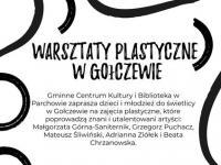 Warsztaty plastyczne w Gołczewie