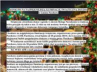 Konkurs na Najpiękniejszą Iluminację Świąteczną w Gminie Parchowo
