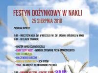 Dożynki w Nakli - 25.08.2018r.